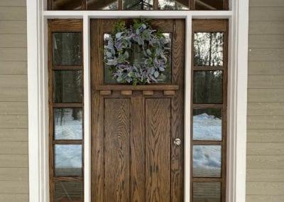 Custom Front Door and Windows
